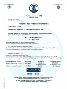 Certificacazione ISO-9001