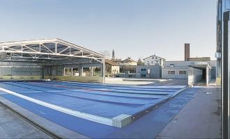Corteolona (Pv) - Copertura mobile piscina comunale