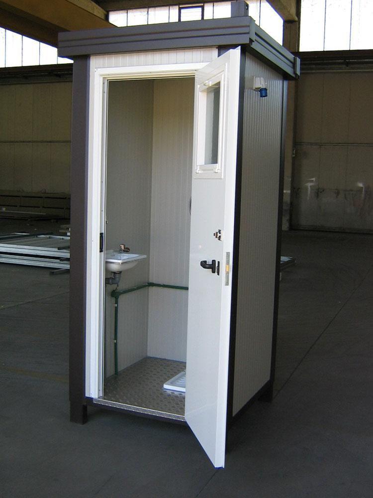 Monoblocchi e bagni prefabbricati fiocchi box for Case container prezzi