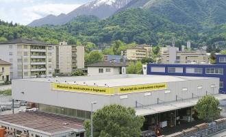 Fiocchi Box - Strutture Commerciali - Losone (Svizzera)