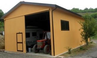 Fiocchi Box - Strutture Industriali - Capannone uso deposito agricolo