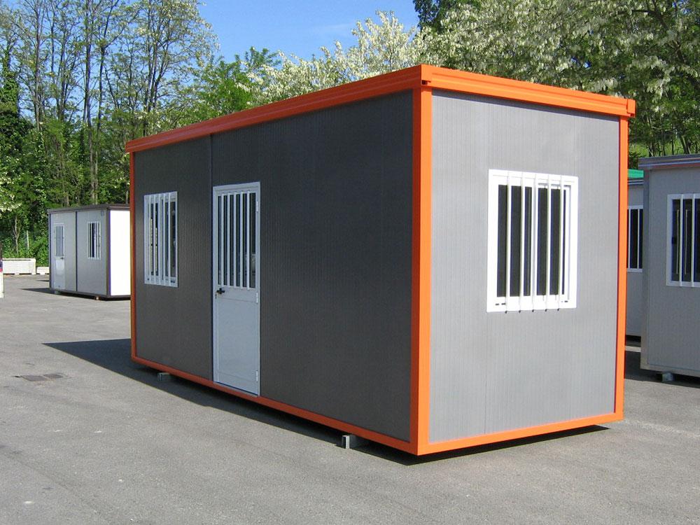 Monoblocchi e bagni prefabbricati fiocchi box for Garage con ufficio