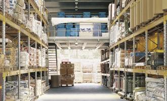 Soppalco uso deposito per rivendita attrezzature edili