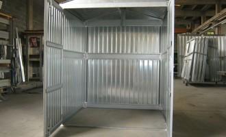 Box cantieristico lamiera zincata