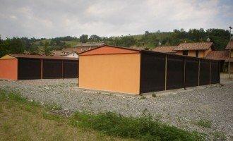 Garage Prefabbricati Multipli a schiera