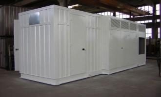 Container Prefabbricato Centraline Idrauliche