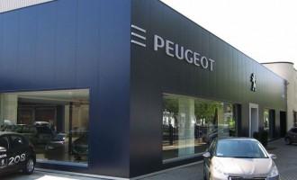 Rivestimento autoconcessionarie Peugeot
