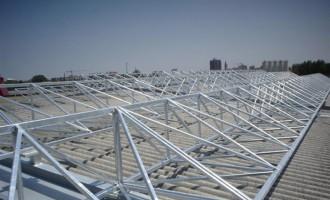 Strutture in acciaio di sostegno per la posa di pannelli solari