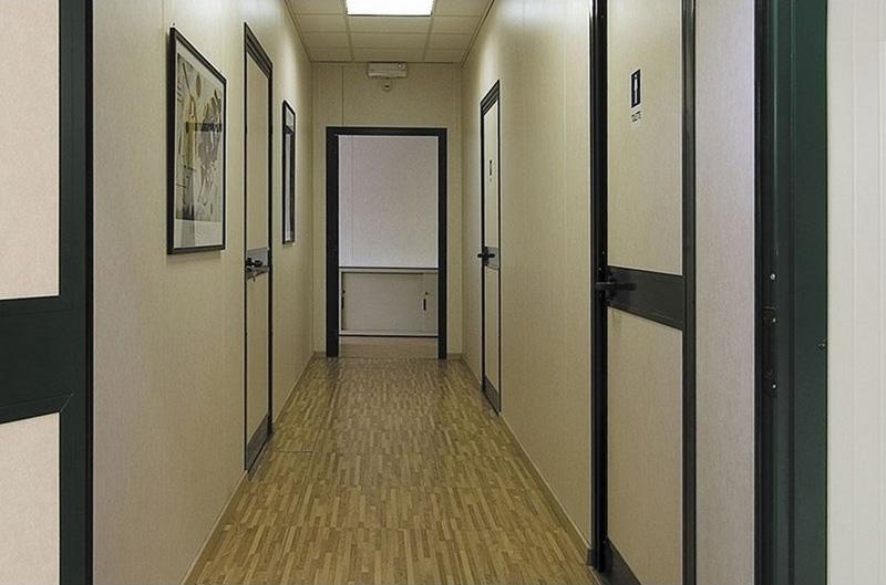 Ufficio Modulare Per Interni : Uffici interni ed esterni fiocchi box prefabbricati spa